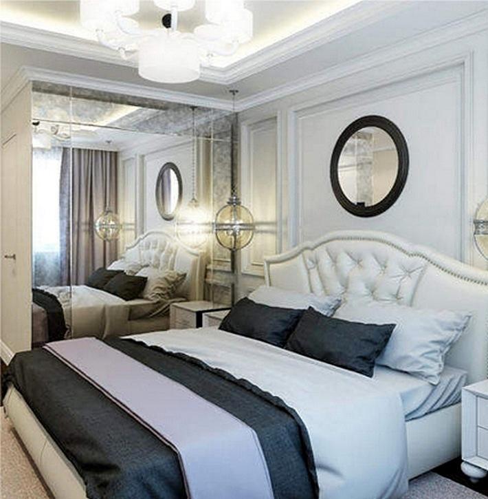 Habitación en un estilo clásico moderno