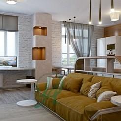 Проект интерьера квартиры на ул. Пионерская