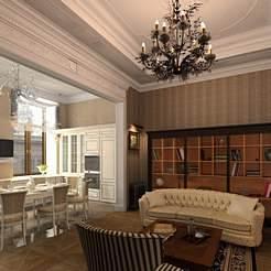 Дизайнерский ремонт квартиры в Адмиралтейском районе