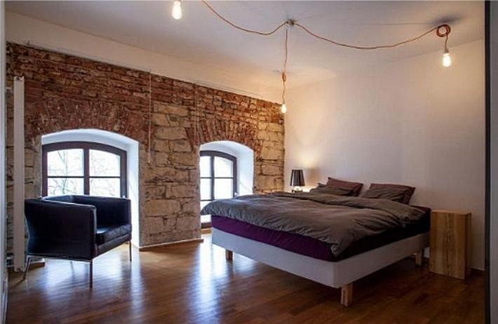 Дизайн стены камина