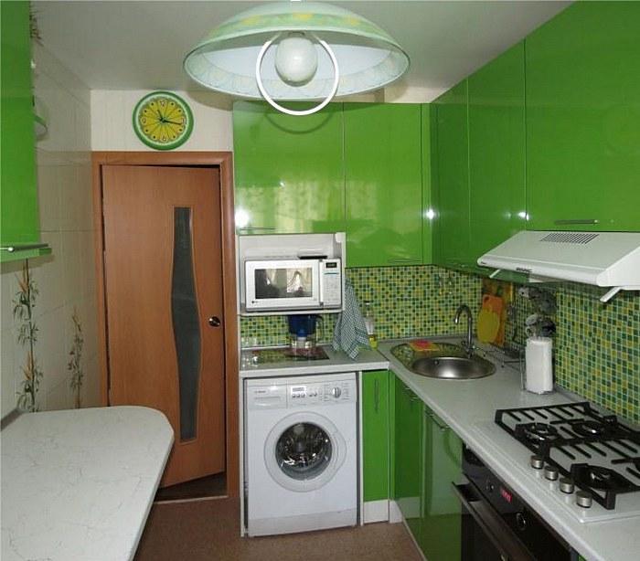 Кухня маленькая 3 метра дизайн