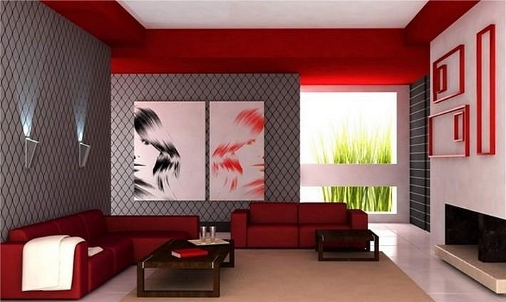 красный дизайн