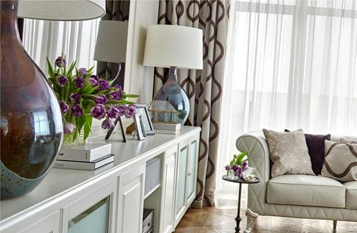 неоклассика в интерьере гостиная (6)
