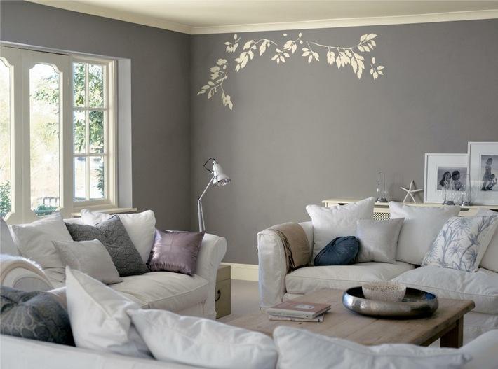 Цвет стен в интерьере