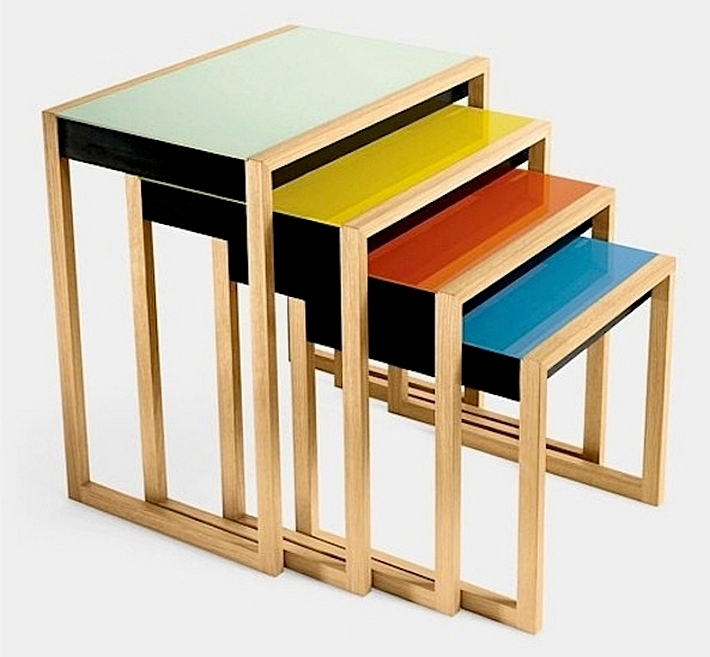 Stacking tables, Джозеф Альберс