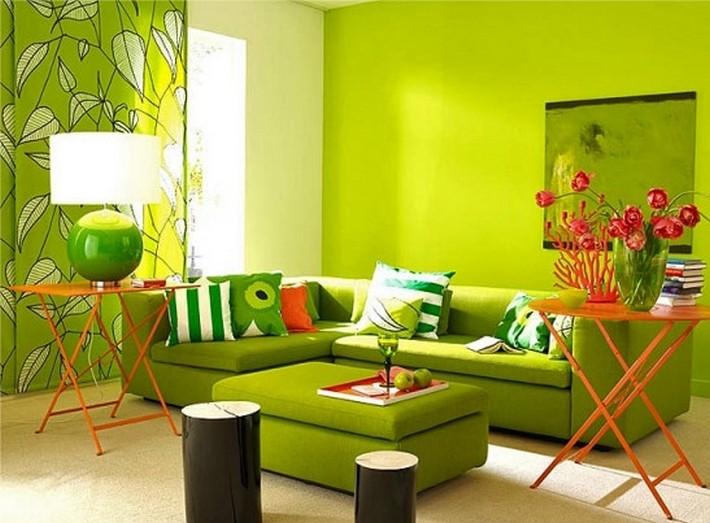 зеленый и красный цвета