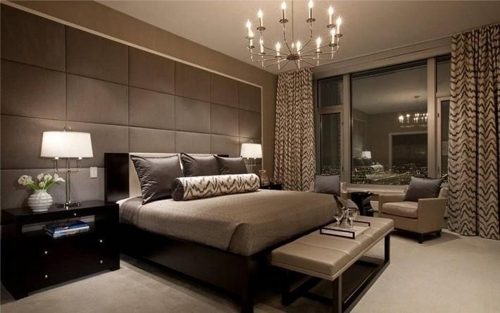 11. Спальня в гостиничном стиле