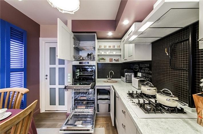 2. максимум полезного пространства на кухне