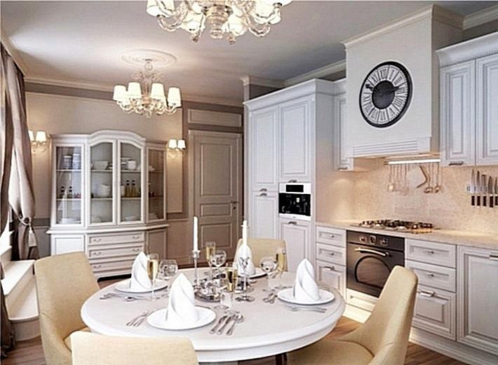 5 Белая классическая кухня