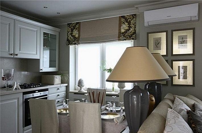 7 Декоративные элементы в классическом дизайне кухни