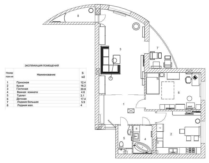 Квартира в ЖК Европейский