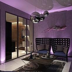 Дизайн квартиры в ЖК «Гранд Фамилия» в Московском районе Санкт-Петербурга