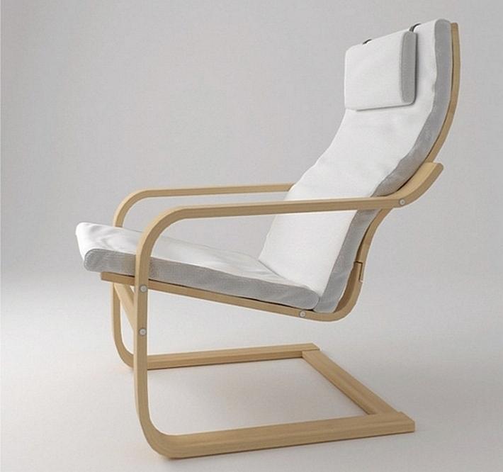 Кресло Поэнг, IKEA, 1975, Швеция