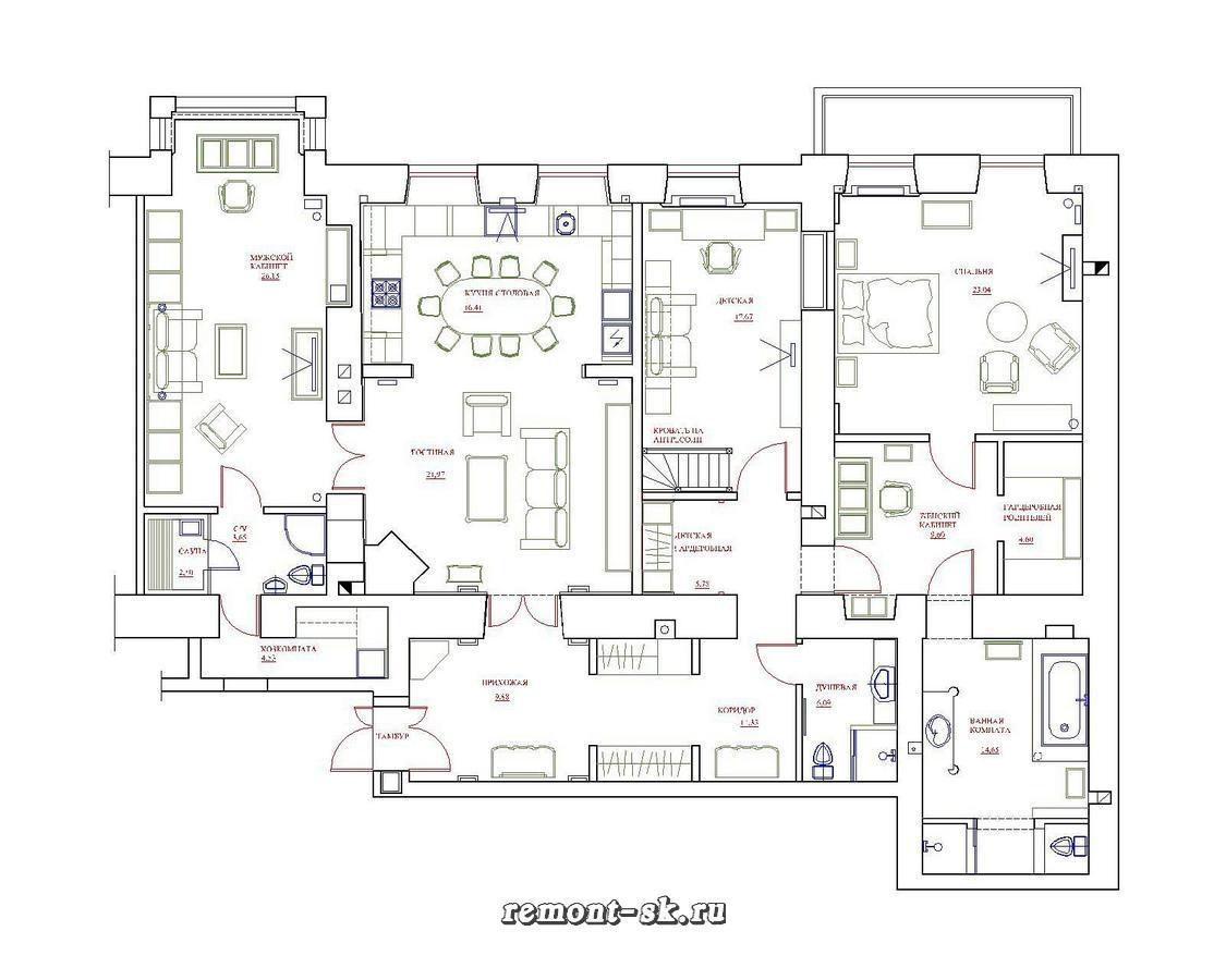Квартира в Адмиралтейском районе Санкт-Петербурга