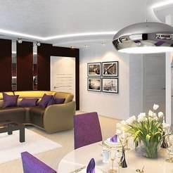 Проект интерьера квартиры на ул. Рашетова