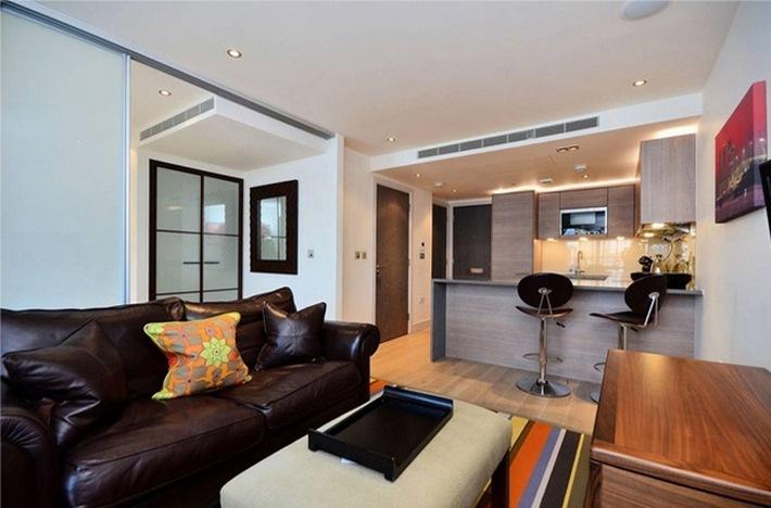 дизайн прямоугольной квартиры студии