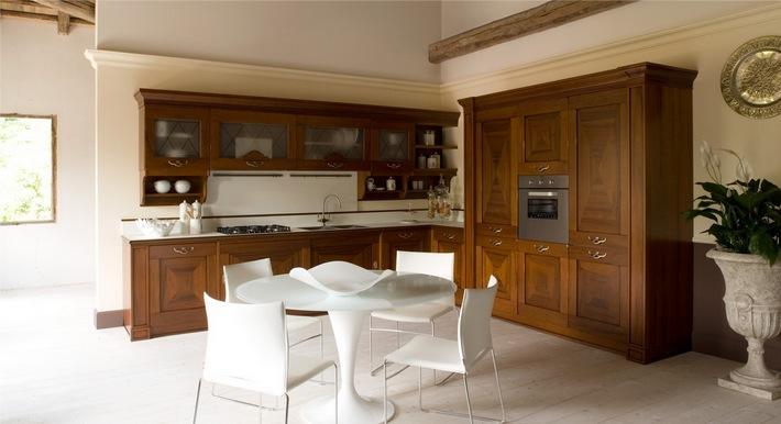 интерьер кухни коричневого цвета