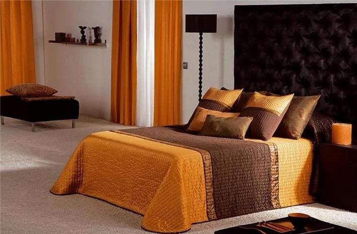коричневый и оранжевый