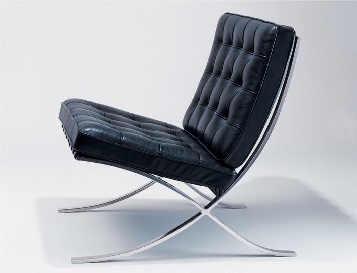 кресло барселона людвиг мис ван дер роэ